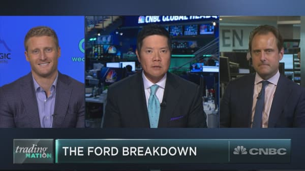 With Ford sinking into a bear market, is its dividend in danger?