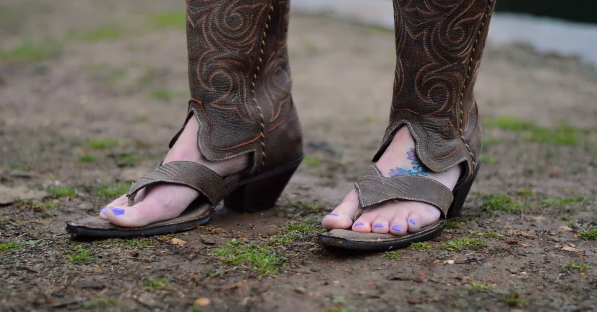 9d008effc How this 31-year-old turned making  Redneck Boot Sandals  into a full-time  job