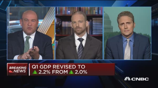 Q2 GDP is a 'Goldilocks' number, says economist