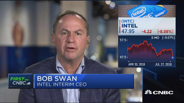 Intel interim CEO: We're well positioned to capitalize on cloud growth