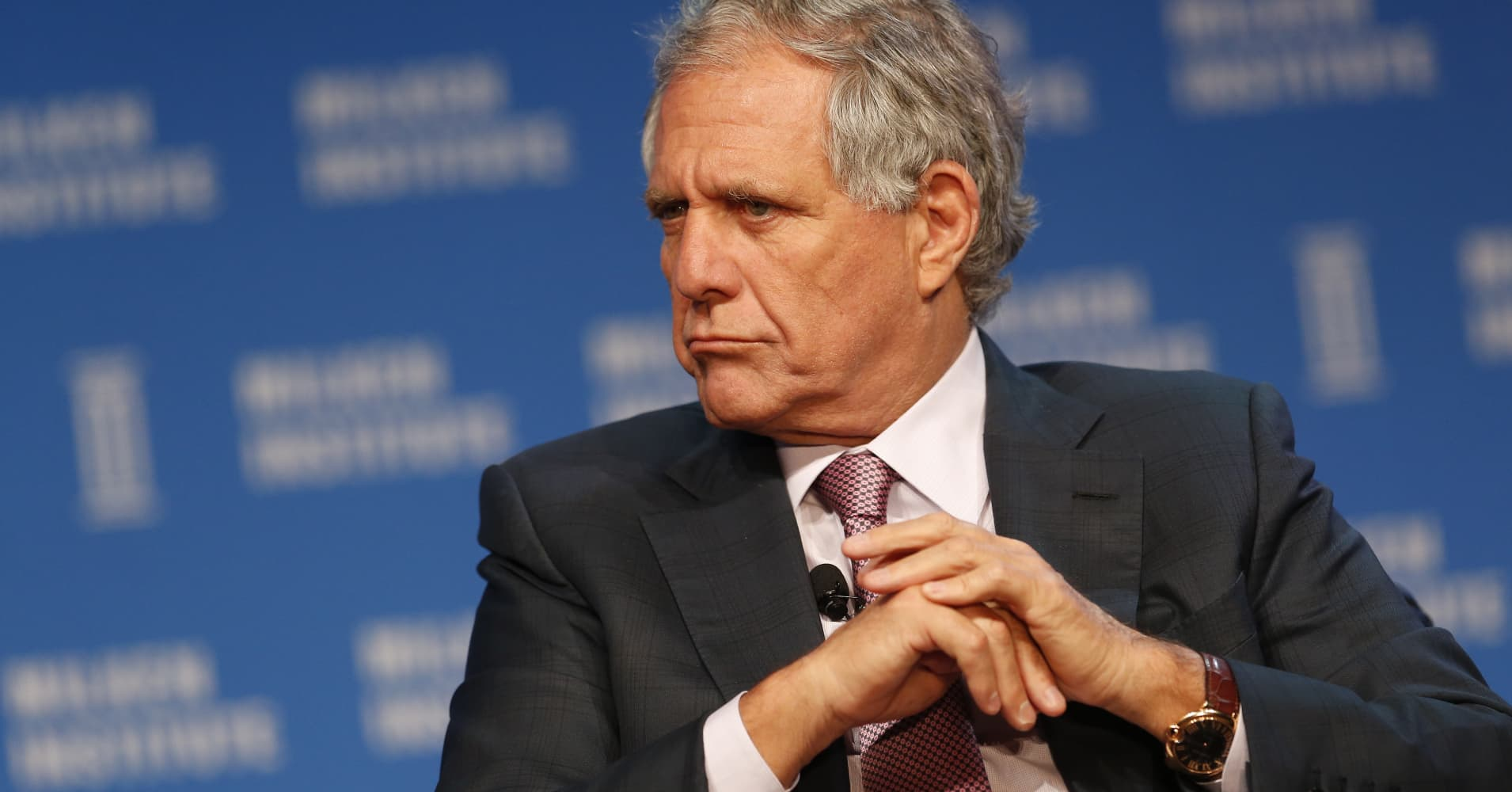 Leslie Moonves is going to arbitration with CBS over his $120 million exit package