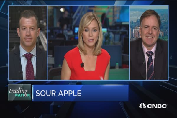 Trading Nation: Apple reports earnings next week
