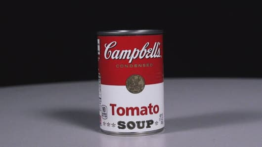 The rise and fall of Campbell Soup