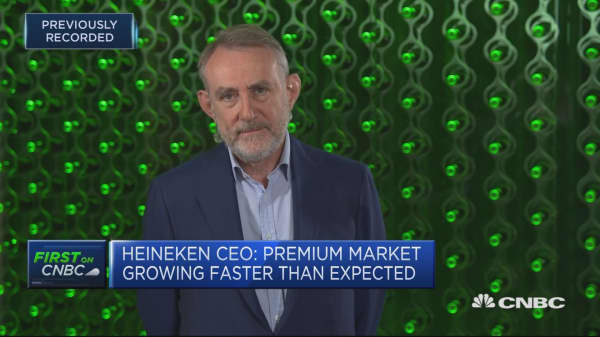 Brazil weakness and stronger euro are behind revised guidance: Heineken CEO