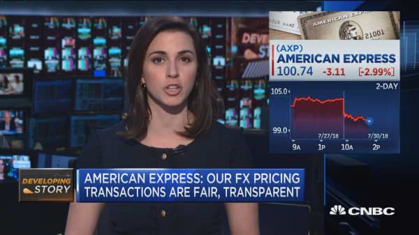 American Express Responds To Wsj S Story Alleging Company Fx Unit Raised Rates