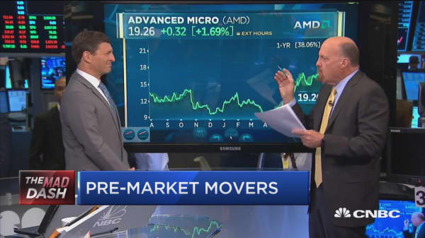 Cramer: AMD chief Lisa Su has 'caught and passed' Intel