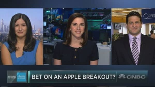 Apple is under pressure amid the tech wreck, but one top technician sees a breakout ahead