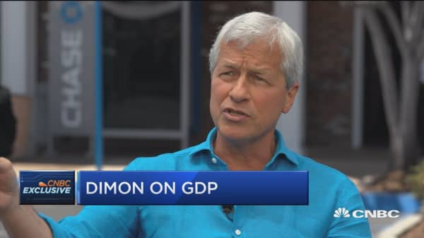 JPMorgan's Jamie Dimon on the US economy