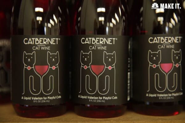 "Catbernet cat ""wine"""