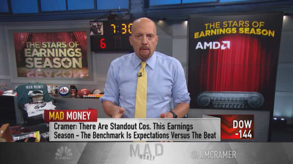 Cramer flags the 'clear winners' of earnings season: AMD, Microsoft, Amazon and Alphabet