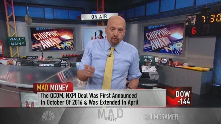 Cramer Says NXP Semiconductors Is A Buy Despite Failed Qualcomm Deal Adorable Nxpi Stock Quote