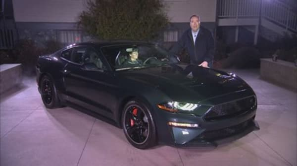 Ford rolls out new Bullitt Mustang