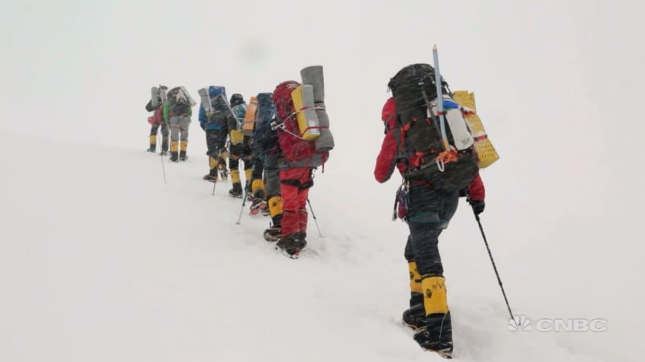 Mountain climber leads adventure seekers up world's dangerous peaks