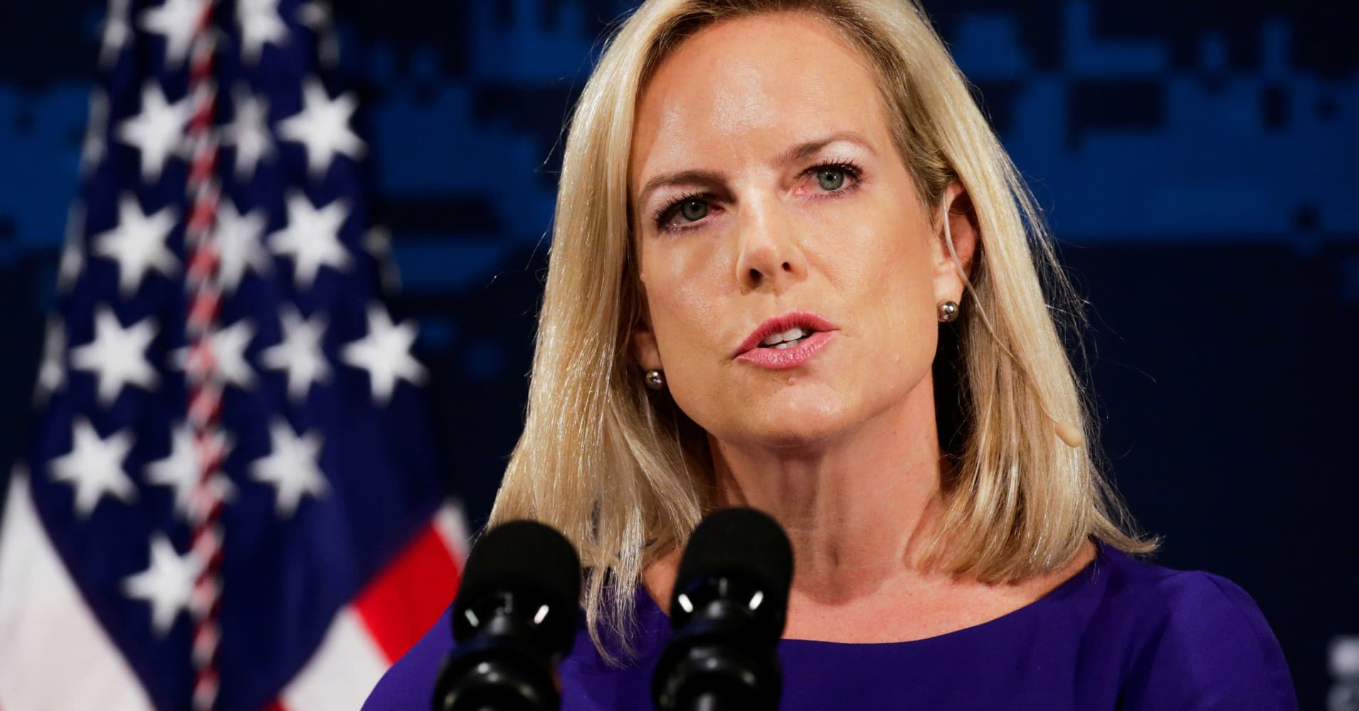 DHS head Nielsen forecasts 'hurricane' cyberattacks, announces response
