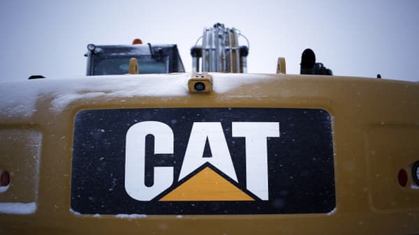 Call of the day: Caterpillar downgraded to equal-weight by Barclays