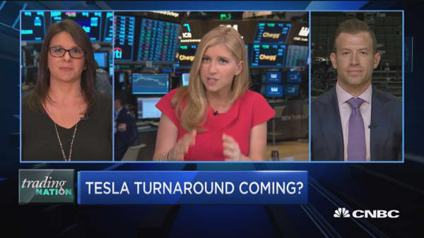Trading Nation: Investors more bearish on Tesla