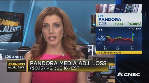 Pandora Media spikes after passing subscriber expectations