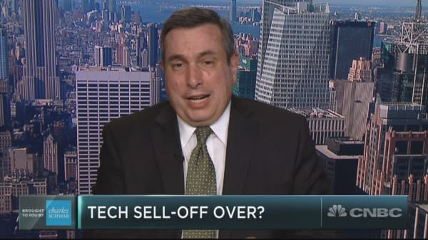 Fears of a tech wreck have run their course, BTIG's Julian Emanuel says