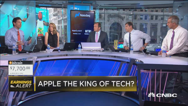 Is Apple now the king of tech?