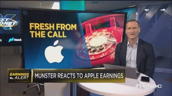 Loup Ventures' Gene Munster grades Apple earnings