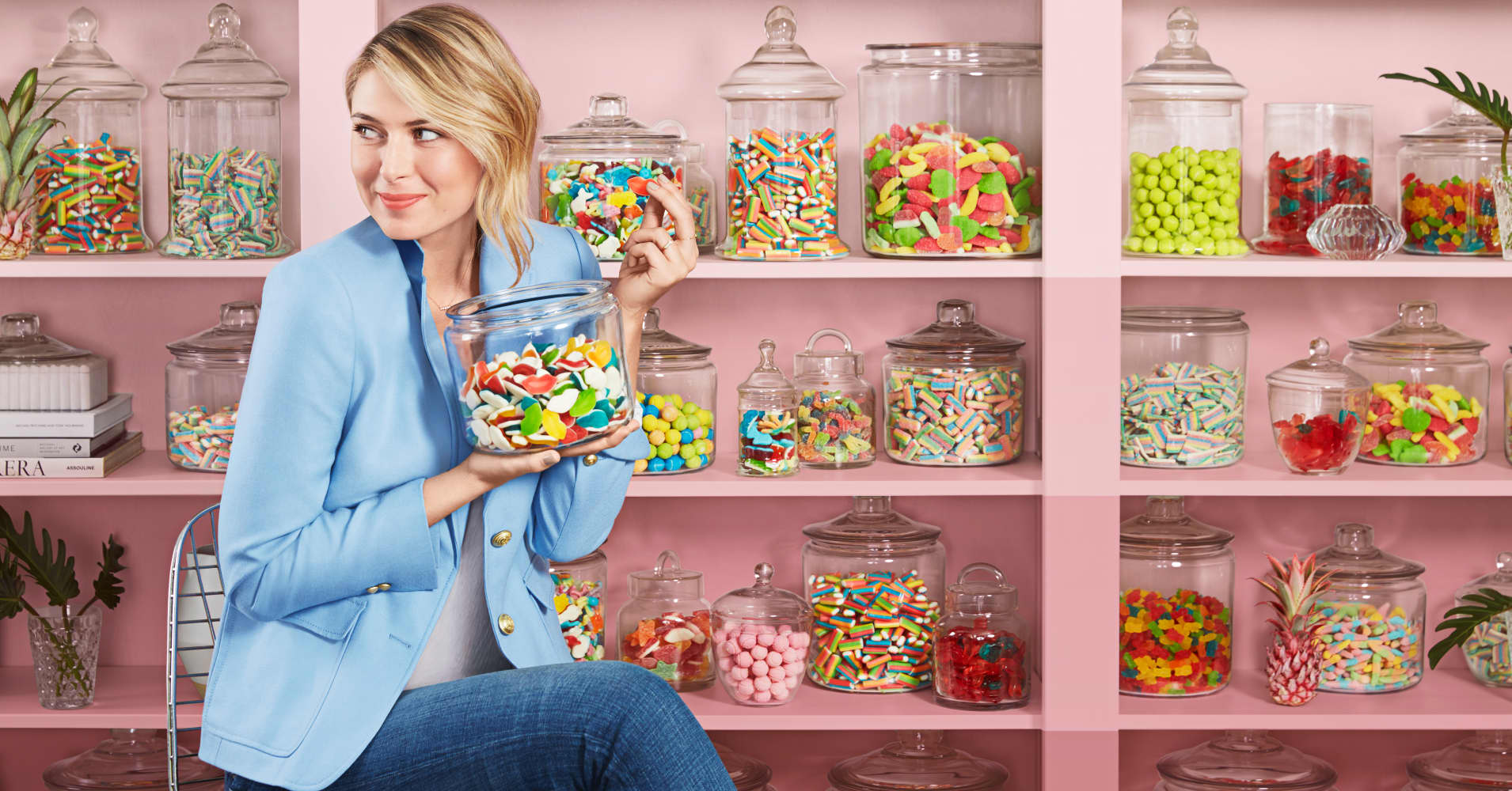 Maria Sharapova launched Sugarpova in 2012