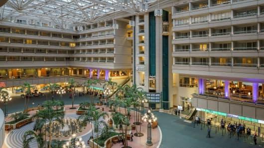 Hyatt Regency Orlando International Airport.