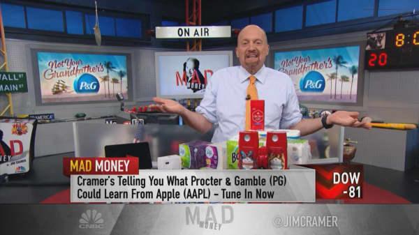 Valuing Apple's stock like Procter & Gamble's