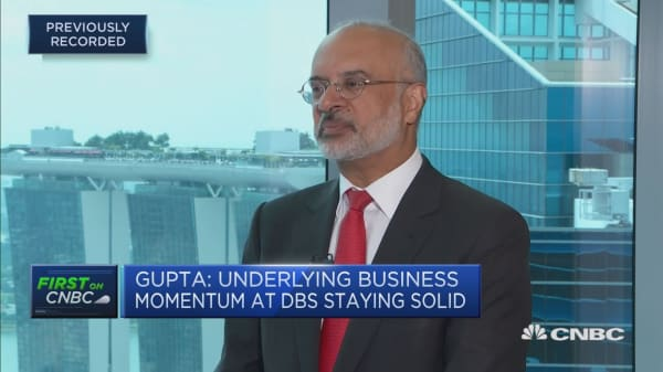 DBS CEO on navigating the US-China trade tensions