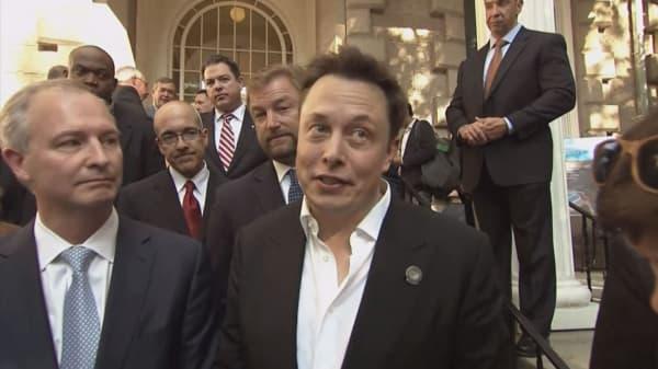 Tesla shares soar after Elon Musk promises profitability