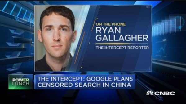 The Intercept: Google plans censored search engine in China