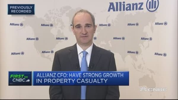 Strong growth in life business: Allianz CFO