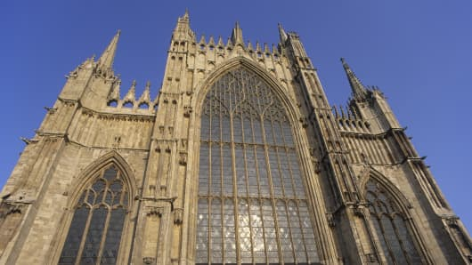 York Minster is one of the cathedrals turning to renewable energy.