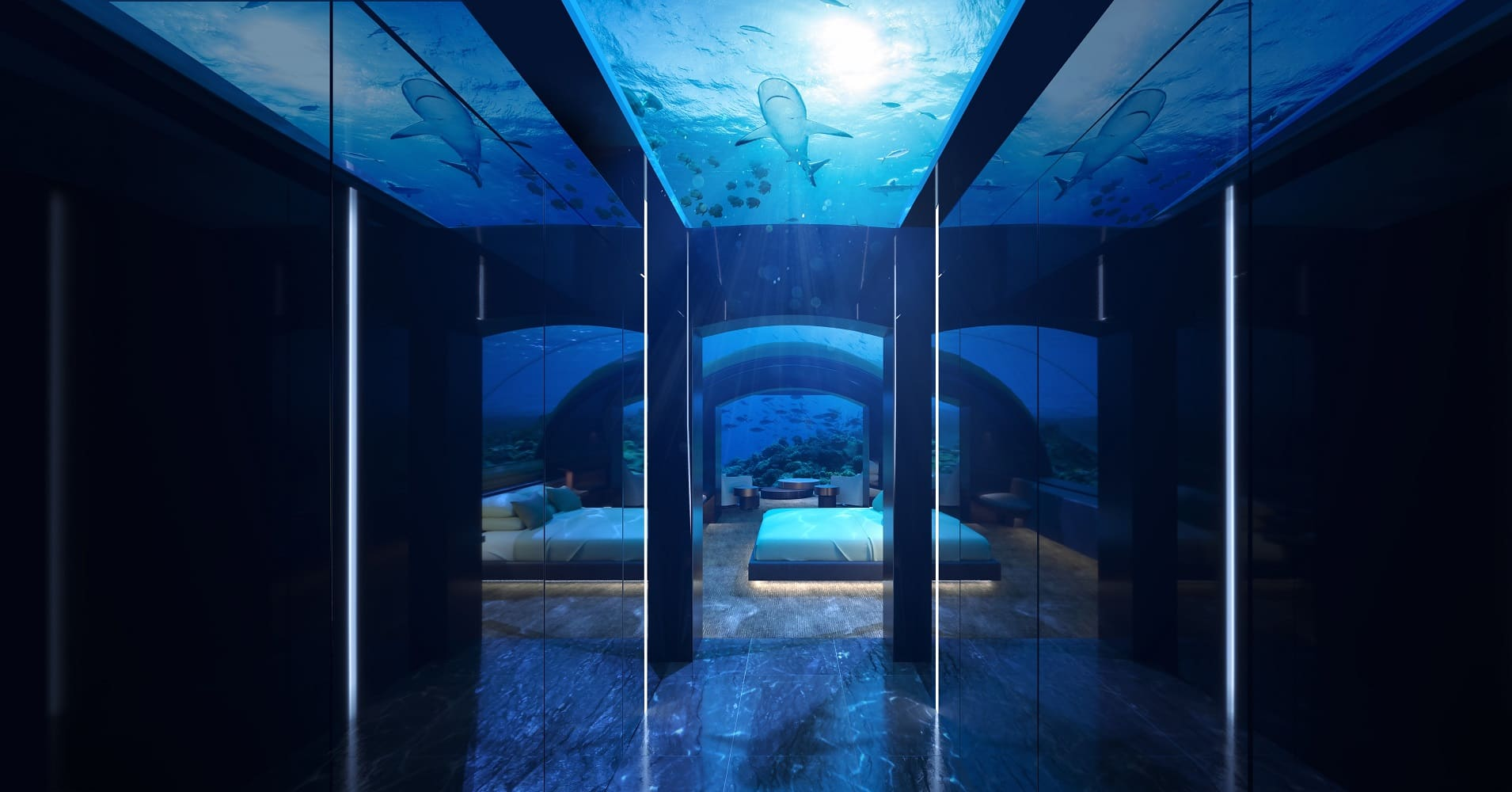 The undersea residence at Muraka