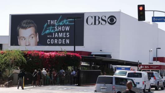 The CBS Television Studios campus in Los Angeles.