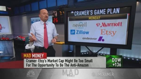 Cramer's game plan: Keep an eye on consumer data amid earnings windfall