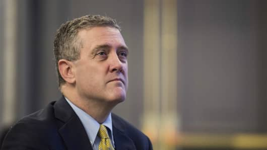 James Bullard, president and chief executive officer at the Federal Reserve Bank of St. Louis.