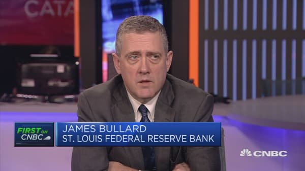 US jobs report was strong, Fed's Bullard says