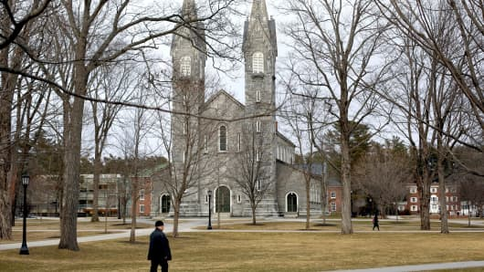 Bowdoin College in Brunswick, Maine.