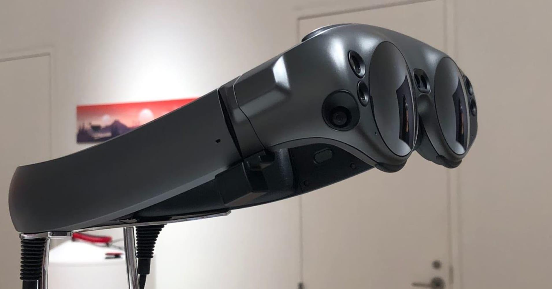 The Magic Leap Lightwear headset.