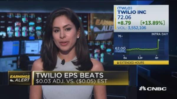 Twilo continues to tear on strong 2018 EPS and revenue outlook