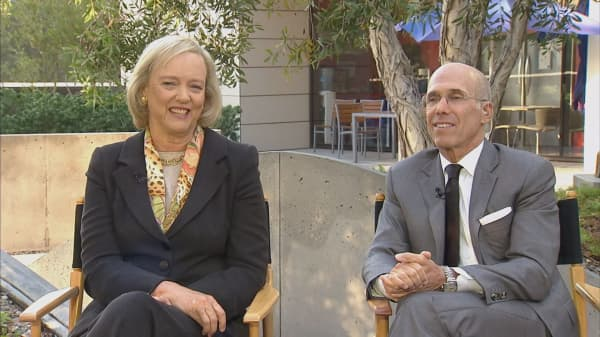 Jeff Katzenberg and Meg Whitman close $1 billion funding round for NewTV