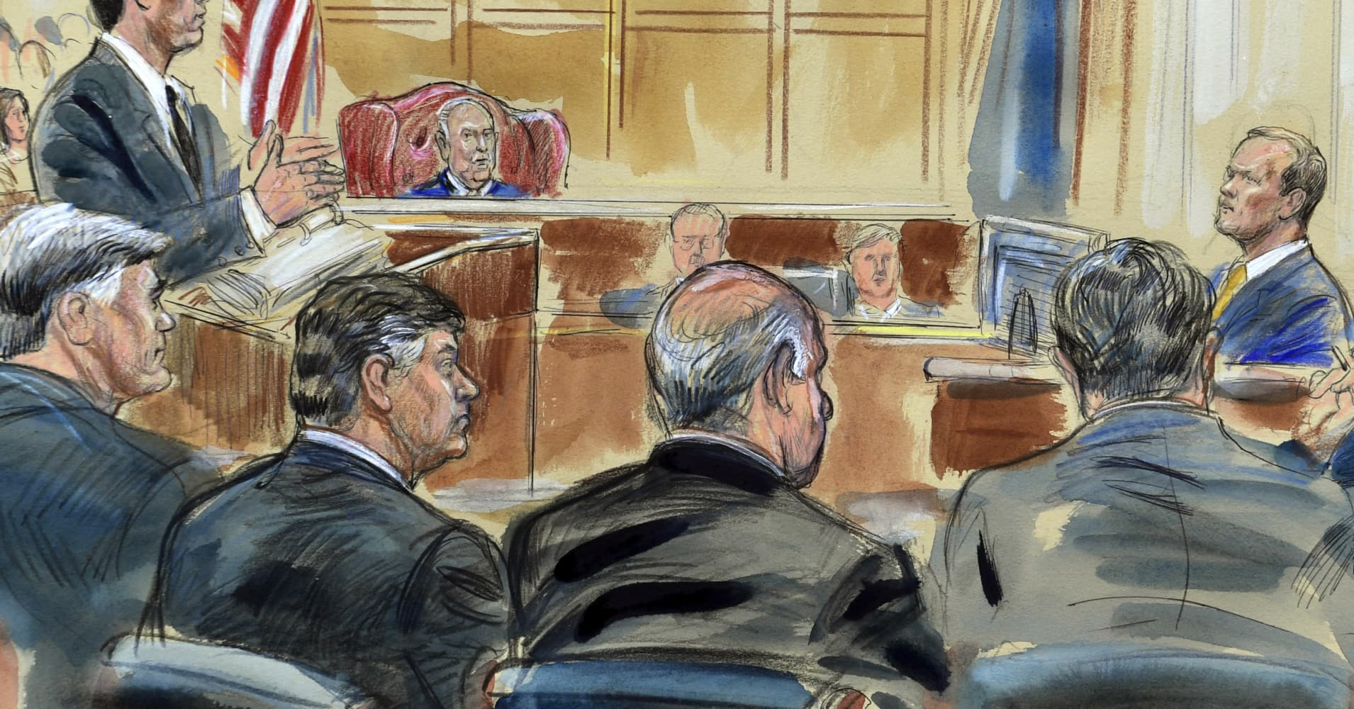 Paul Manafort suggested his banker to be Trump's Secretary of the Army, Rick Gates testifies