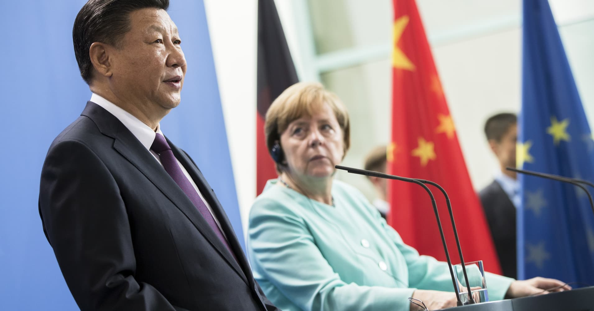Europe should stand up and compete, not blame China