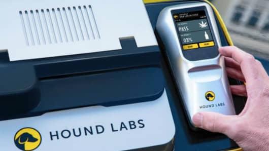 Hound Labs breathalyzer