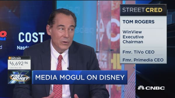 Media mogul tom Rogers reveals what's next for Disney