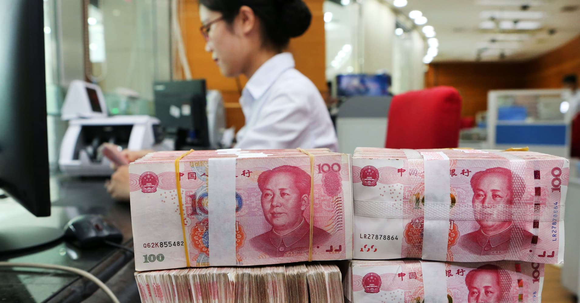 Trump's tariff battle with China is spurring record dollar-yuan trading