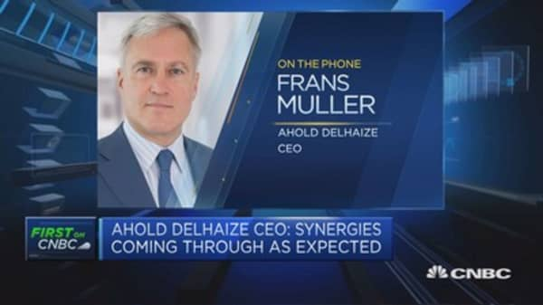 Ahold Delhaize CEO: Expect double-digit growth by 2019