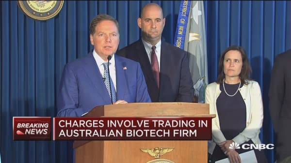 Charges announced against Rep. Chris Collins (R-NY)