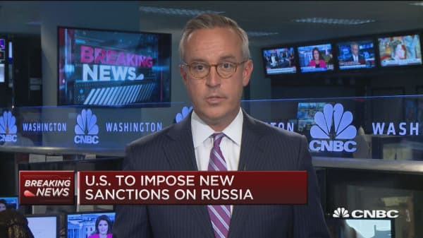 US to impose new sanctions on Russia