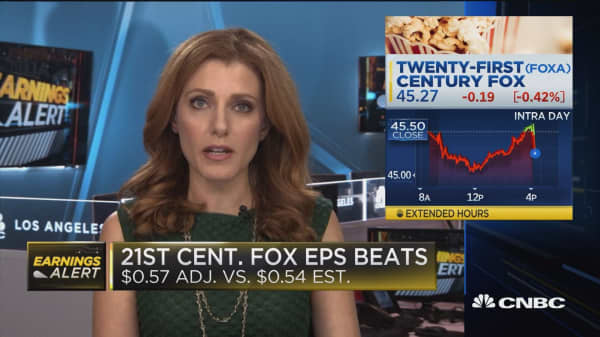 Twenty First Century Fox Beats On Earnings And Revenue